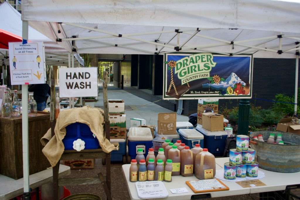 Best Practices at Portland Farmers Market